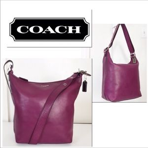 Coach Legacy Leather Convertible Crossbody Bag